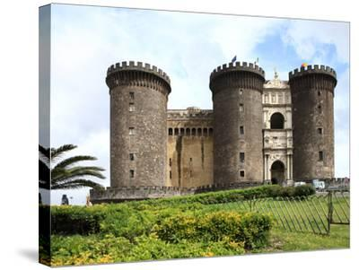 Maschio Angioino Castle (Castel Nuovo), Naples, Campania, Italy, Europe-Vincenzo Lombardo-Stretched Canvas Print