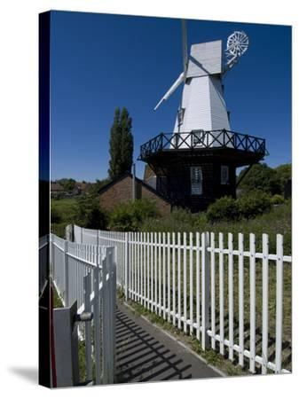 Rye Windmill, Rye, East Sussex, England, United Kingdom, Europe-Ethel Davies-Stretched Canvas Print