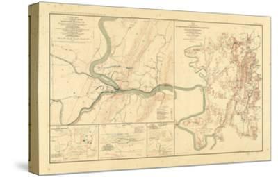 1891, Maryland, Virginia, Civil War--Stretched Canvas Print