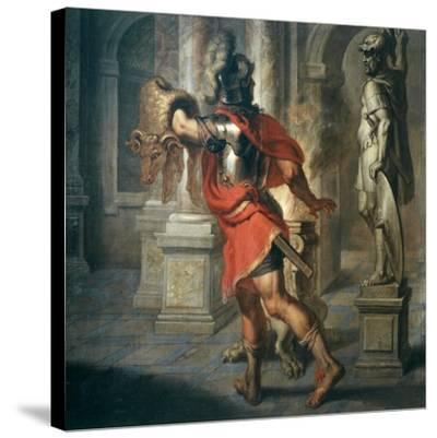 Jason and the Golden Fleece (Greek Hero Who Exchanged Fleece for His Kingdom), 181x195cm-Erasmus Quellinus-Stretched Canvas Print