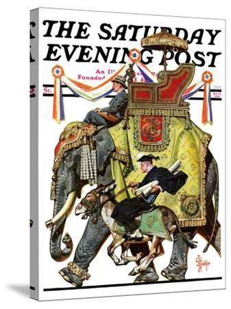 """Political Party Symbols,"" Saturday Evening Post Cover, October 17, 1936-Joseph Christian Leyendecker-Stretched Canvas Print"
