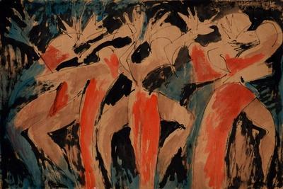 Carnavalia 2-Vaan Manoukian-Stretched Canvas Print
