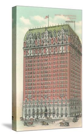 Blackstone Hotel, Chicago, Illiniois--Stretched Canvas Print
