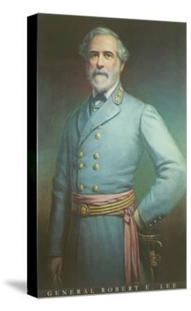 General Robert E. Lee--Stretched Canvas Print