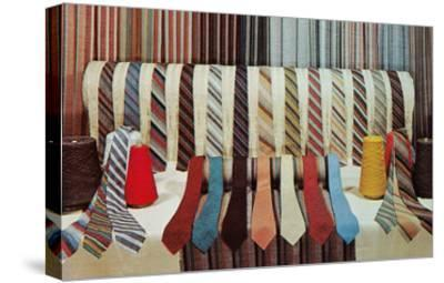 Lots of Ties--Stretched Canvas Print