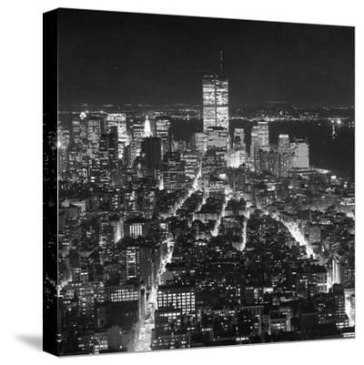 Manhattan, New York, USA, 1991--Stretched Canvas Print