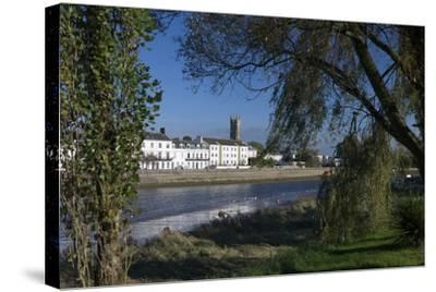 River Taw, Barnstaple, North Devon, England, United Kingdom, Europe-Rob Cousins-Stretched Canvas Print