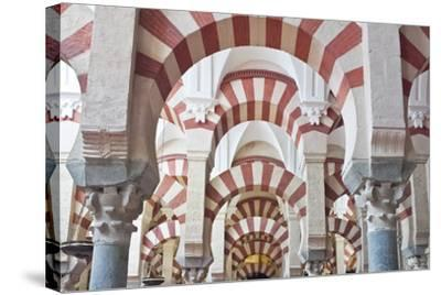 Catedral Mosque of Cordoba, Interior, Cordoba, Andalucia, Spain-Rob Tilley-Stretched Canvas Print