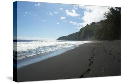 Waipio Valley, Hamakua Coast, Big Island, Hawaii, USA-Douglas Peebles-Stretched Canvas Print