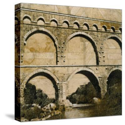 Aqueduct 1-John Douglas-Stretched Canvas Print