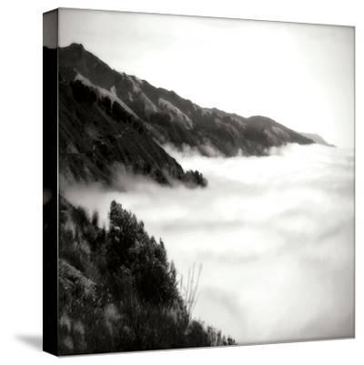Pacific Fog Sq I-Alan Hausenflock-Stretched Canvas Print