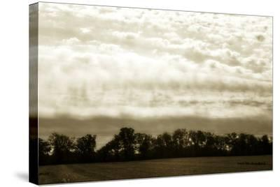 Clouds and Fields 1-Alan Hausenflock-Stretched Canvas Print