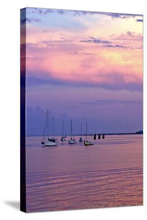 St. Augustine Harbor Sunset 4-Alan Hausenflock-Stretched Canvas Print