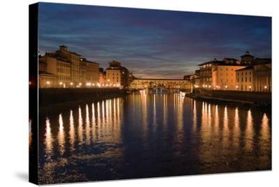 Florence Reflections I-Rita Crane-Stretched Canvas Print