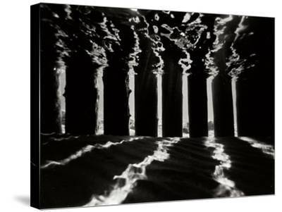 Pier Pilings 4-Lee Peterson-Stretched Canvas Print