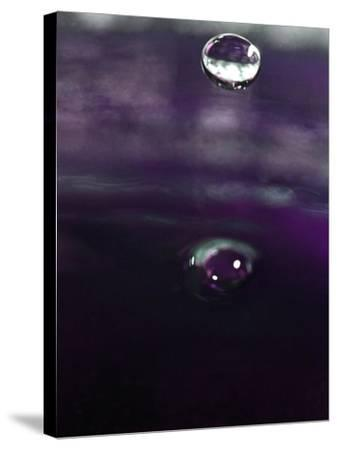 Grape Drink Drop IV-Tammy Putman-Stretched Canvas Print