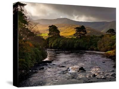 The Erriff River in County Mayo-Chris Hill-Stretched Canvas Print