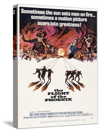 The Flight of the Phoenix, 1965, Directed by Robert Aldrich--Stretched Canvas Print