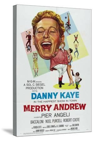 Merry Andrew, 1958, Directed by Michael Kidd--Stretched Canvas Print