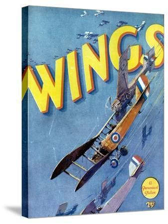 Wings, 1927, Directed by William A. Wellman--Stretched Canvas Print