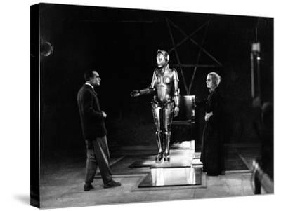 "R. Klein Rogge. ""Metropolis"" 1927, Directed by Fritz Lang--Stretched Canvas Print"