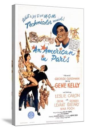 An American In Paris, 1951, Directed by Vincente Minnelli--Stretched Canvas Print