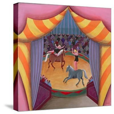 The Circus-Jerzy Marek-Stretched Canvas Print