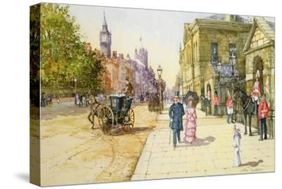 Horse Guards, Whitehall-John Sutton-Stretched Canvas Print