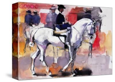Side-Saddle at the Feria De Sevilla, 1998-Mark Adlington-Stretched Canvas Print