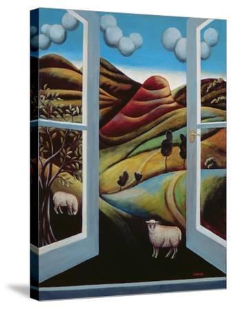 Highland View-Jerzy Marek-Stretched Canvas Print