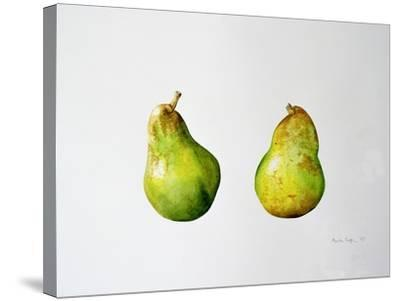 A Pair of Pears, 1997-Alison Cooper-Stretched Canvas Print