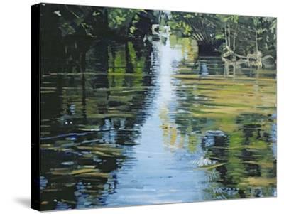 Shimmering River, 2003-Alan Byrne-Stretched Canvas Print