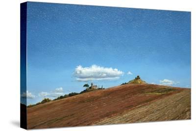 Big Sky, Hill Top, Todi, Umbria, 1998-Trevor Neal-Stretched Canvas Print