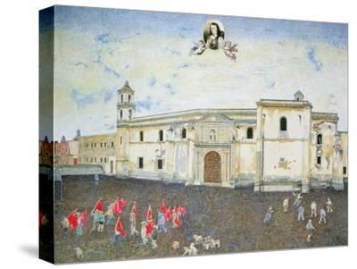 Political Protest, the Cloister of Sor Juana De La Cruz (1648-95) 2001-James Reeve-Stretched Canvas Print