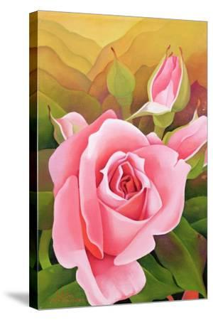 The Rose, 2002-Myung-Bo Sim-Stretched Canvas Print