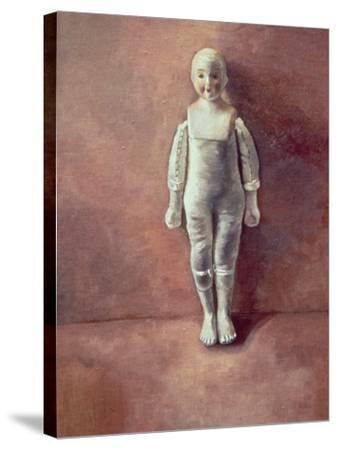 Panel from the Triptych 'Doll Study', 2000-Victoria Russell-Stretched Canvas Print