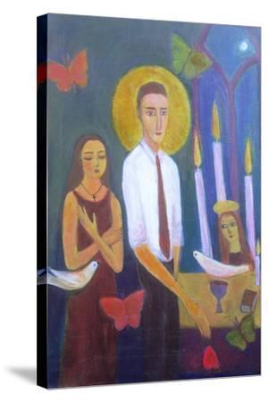 Evening Prayer, 2001-Roya Salari-Stretched Canvas Print