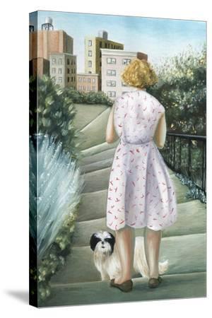 Home, Study-Caroline Jennings-Stretched Canvas Print