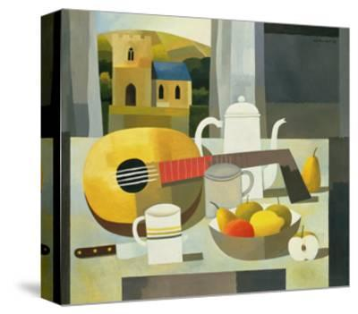 Still Life with Mandolin, 1999-Reg Cartwright-Stretched Canvas Print