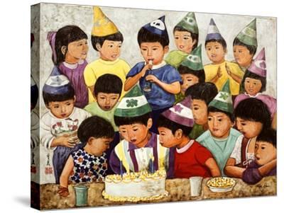 Happy Birthday, 1994-Komi Chen-Stretched Canvas Print