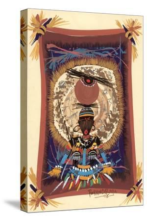 Diviner Tray, 2006-Oglafa Ebitari Perrin-Stretched Canvas Print