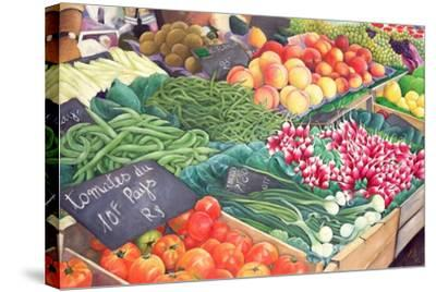 Market Stall, 1999-Peter Breeden-Stretched Canvas Print