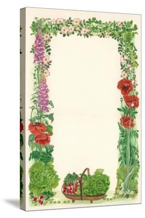 June, 1993-Linda Benton-Stretched Canvas Print