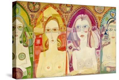 Icon, 1970-Laila Shawa-Stretched Canvas Print