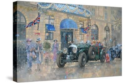 Christmas at the Ritz-Peter Miller-Stretched Canvas Print