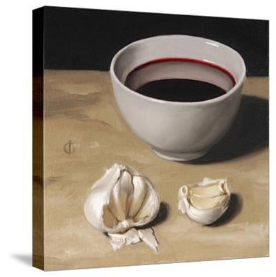 Garlic and Wine-James Gillick-Stretched Canvas Print