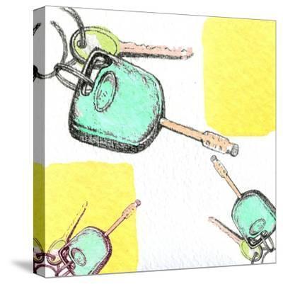 Car Keys-Anna Platts-Stretched Canvas Print