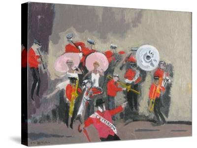 Jazz Band, 2008-David Alan Redpath Michie-Stretched Canvas Print