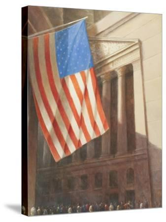 New York Stock Exchange, 2010-Lincoln Seligman-Stretched Canvas Print