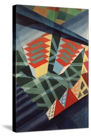 Perspectives in Flight, c.1926-Fedele Azari-Stretched Canvas Print